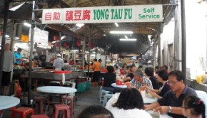 Hawker Stalls in Chinatown