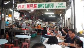 Hawker Stalls in Chinatown